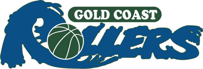Gold Coast  Rollers Logo Primary Logo (1991/92-1995/96) -  SportsLogos.Net