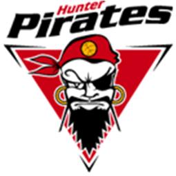Hunter  Pirates Logo Primary Logo (2003/04-2005/06) -  SportsLogos.Net