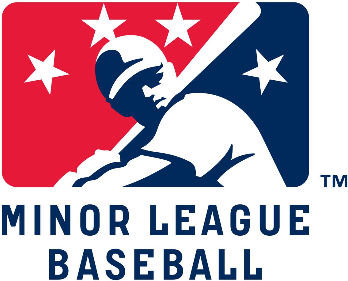minor league baseball primary logo minor league baseball milb rh sportslogos net Minor League Baseball Fight Worst Minor League Baseball Logos