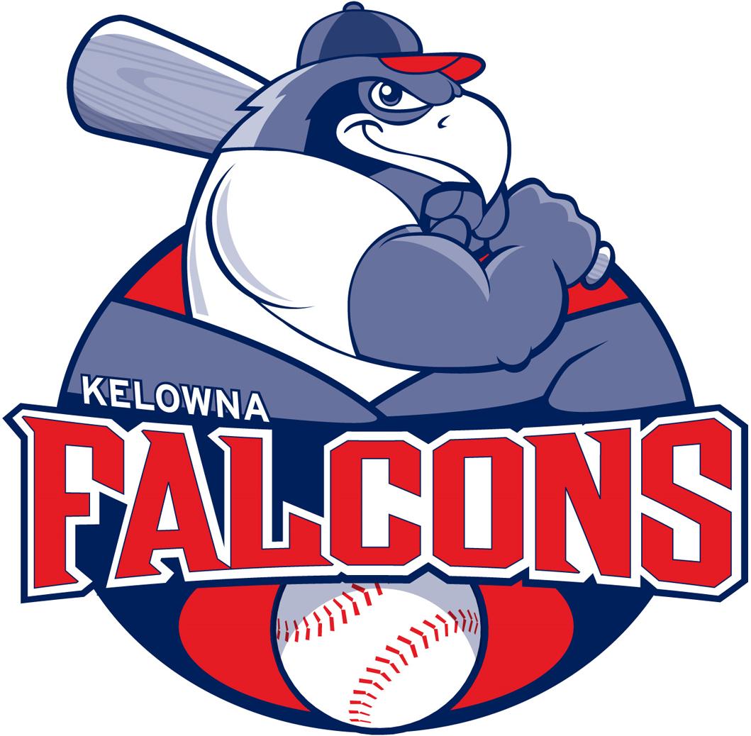 Kelowna Falcons Logo Primary Logo (2010-Pres) -  SportsLogos.Net