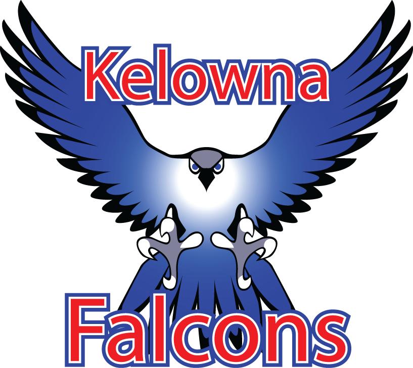 Kelowna Falcons Logo Primary Logo (2005-2009) -  SportsLogos.Net