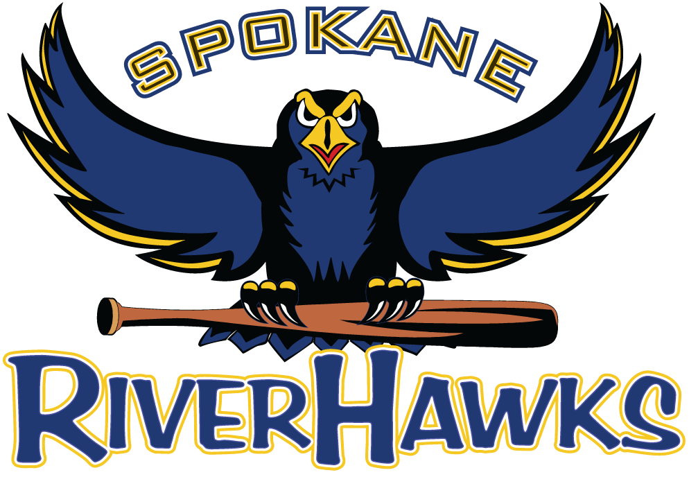 Spokane  RiverHawks Logo Primary Logo (2005-2009) -  SportsLogos.Net