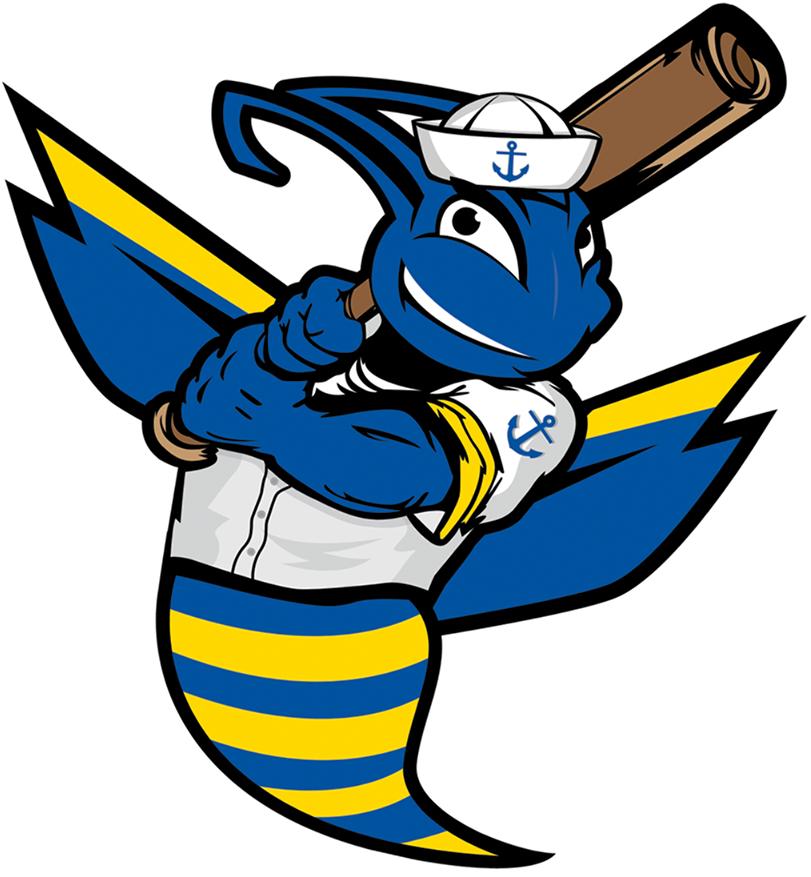 Kitsap BlueJackets Logo Primary Logo (2015-Pres) -  SportsLogos.Net