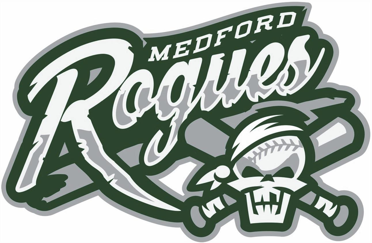 Medford Rogues Logo Primary Logo (2013-Pres) -  SportsLogos.Net