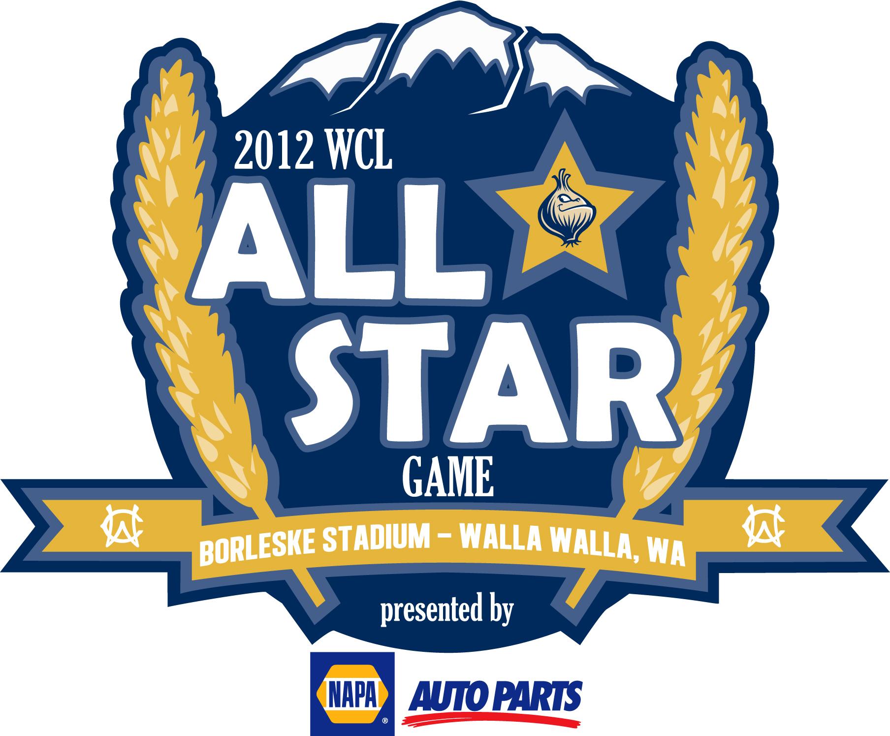 WCL All-Star Game Logo Primary Logo (2012) - 2012 WCL All-Star Game - Walla Walla, Washington  SportsLogos.Net