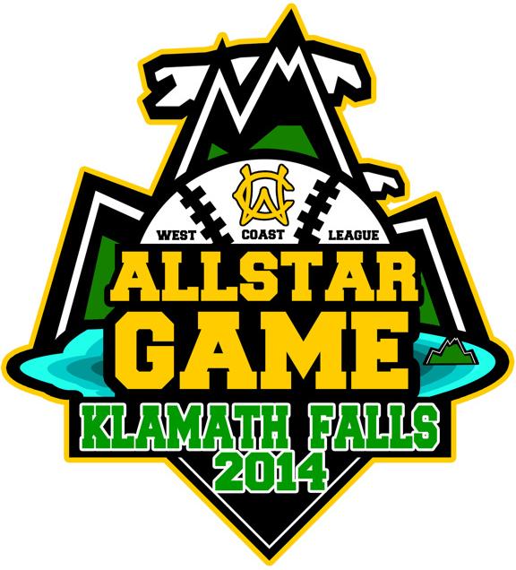 WCL All-Star Game Logo Primary Logo (2014) - 2014 WCL All-Star Game - Klamath Falls, Oregon SportsLogos.Net