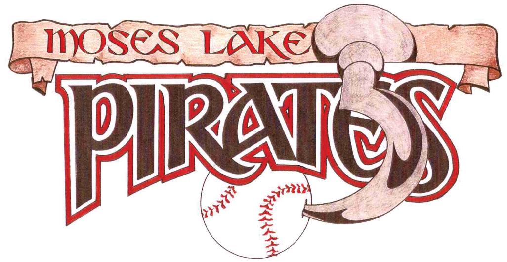 Moses Lake  Pirates Logo Primary Logo (2006-2010) -  SportsLogos.Net