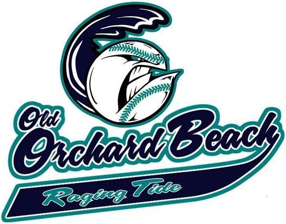Old Orchard Beach Raging Tide Logo Primary Logo (2012-Pres) -  SportsLogos.Net