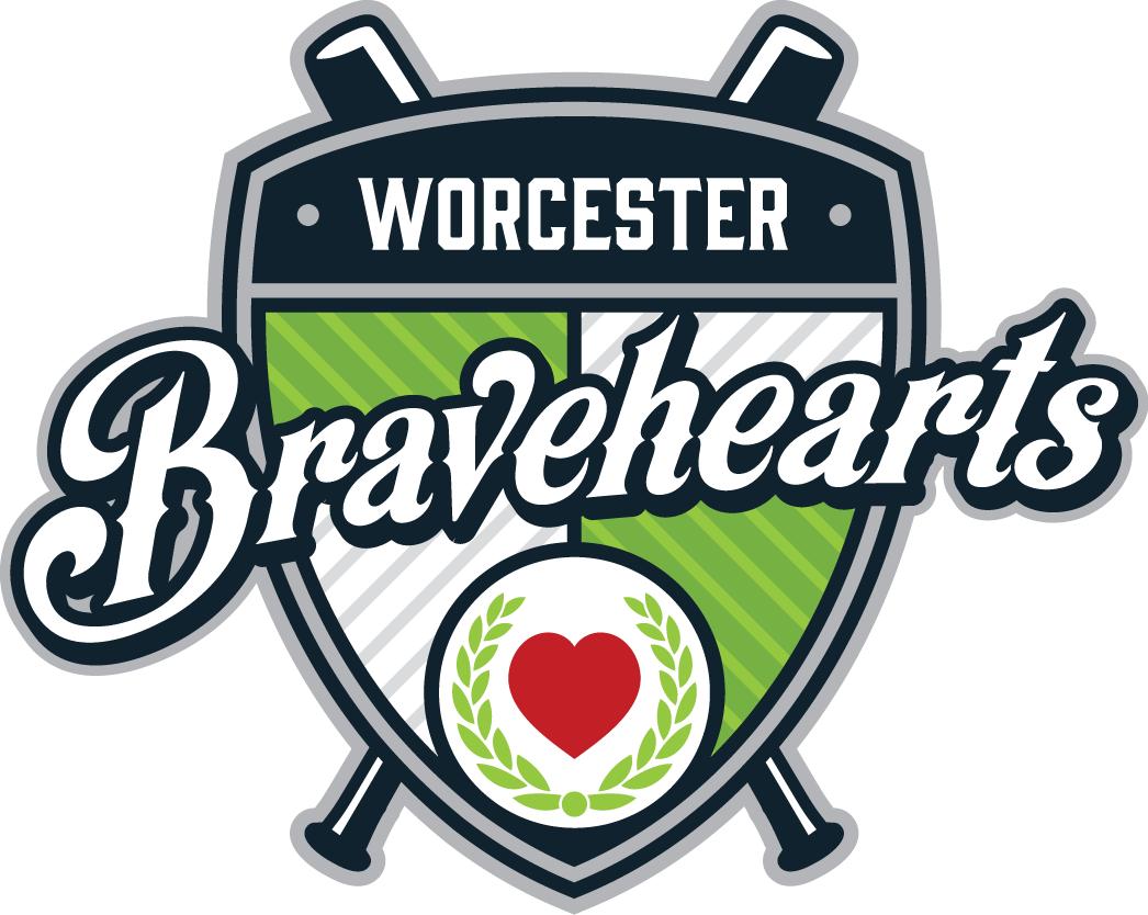 Worcester Bravehearts Logo Primary Logo (2014-Pres) -  SportsLogos.Net