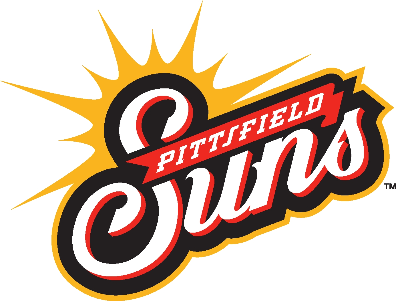 Pittsfield Suns Logo Primary Logo (2012-Pres) -  SportsLogos.Net
