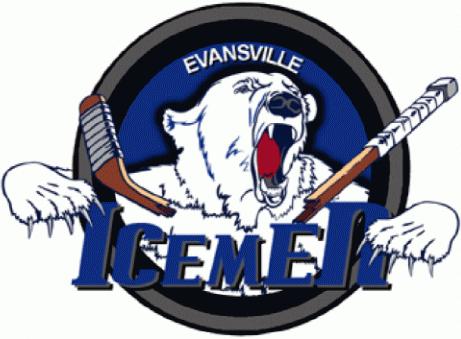 Evansville IceMen Logo Primary Logo (2008/09) -  SportsLogos.Net