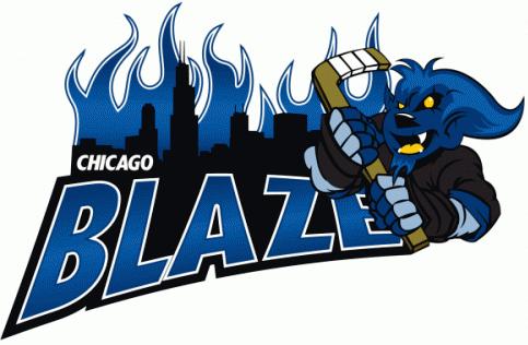 Chicago Blaze Logo Primary Logo (2008/09) -  SportsLogos.Net