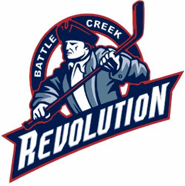 Battle Creek Revolution Logo Primary Logo (2008/09-2010/11) -  SportsLogos.Net