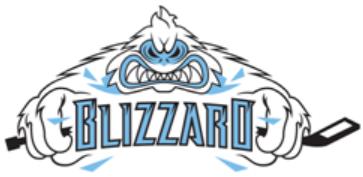 Indiana Blizzard Logo Primary Logo (2010/11) -  SportsLogos.Net