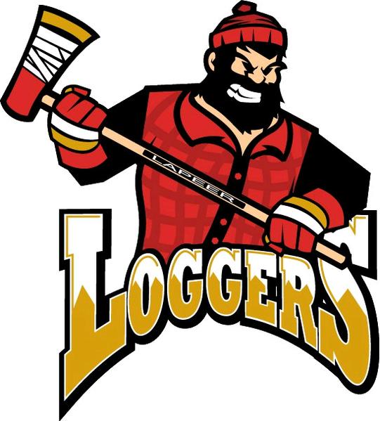 Lapeer Loggers Logo Primary Logo (2010/11) -  SportsLogos.Net