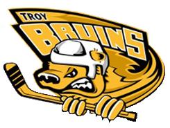Troy Bruins  Logo Primary Logo (2010/11) -  SportsLogos.Net