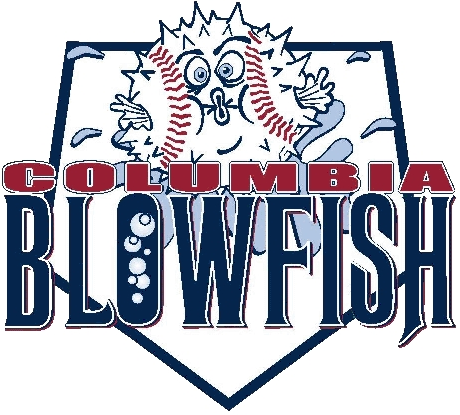 Columbia Blowfish Logo Primary Logo (2006-2010) -  SportsLogos.Net
