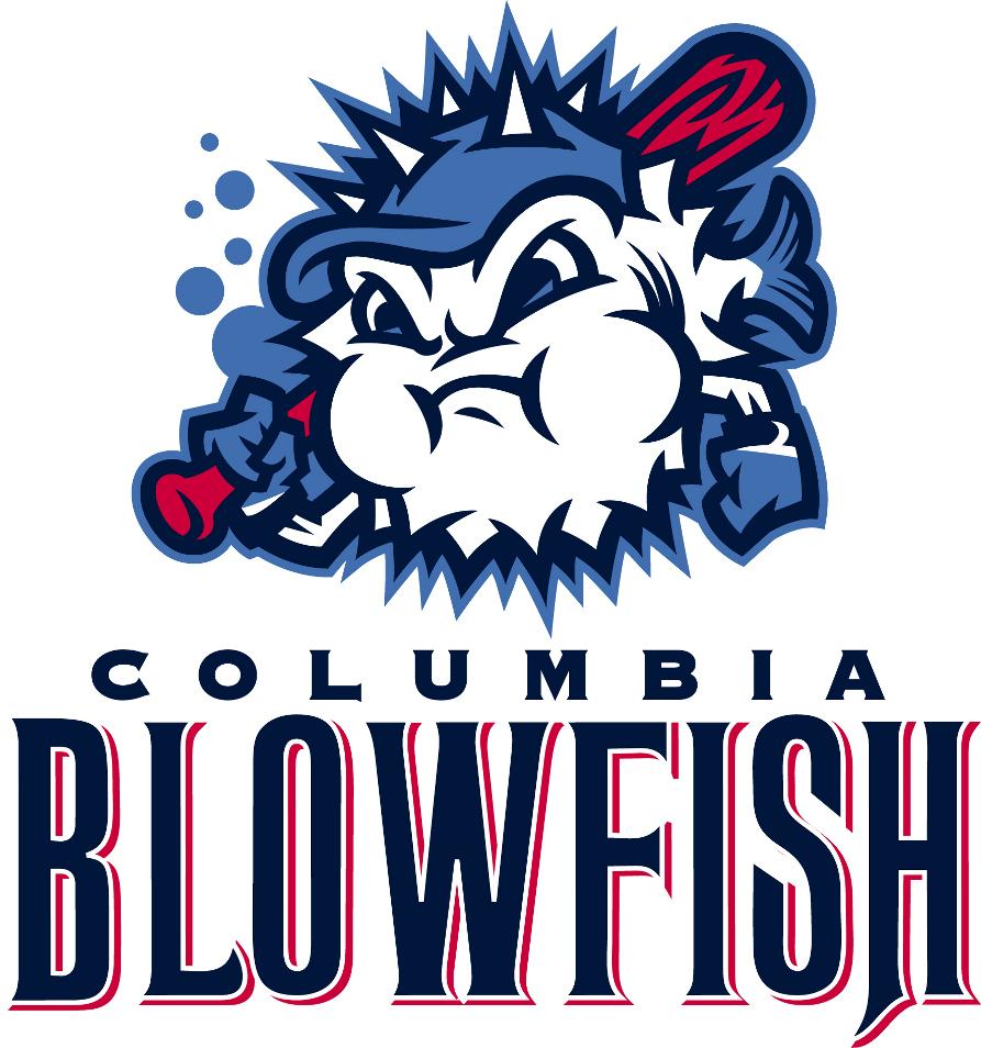 Columbia Blowfish Logo Primary Logo (2011-Pres) -  SportsLogos.Net