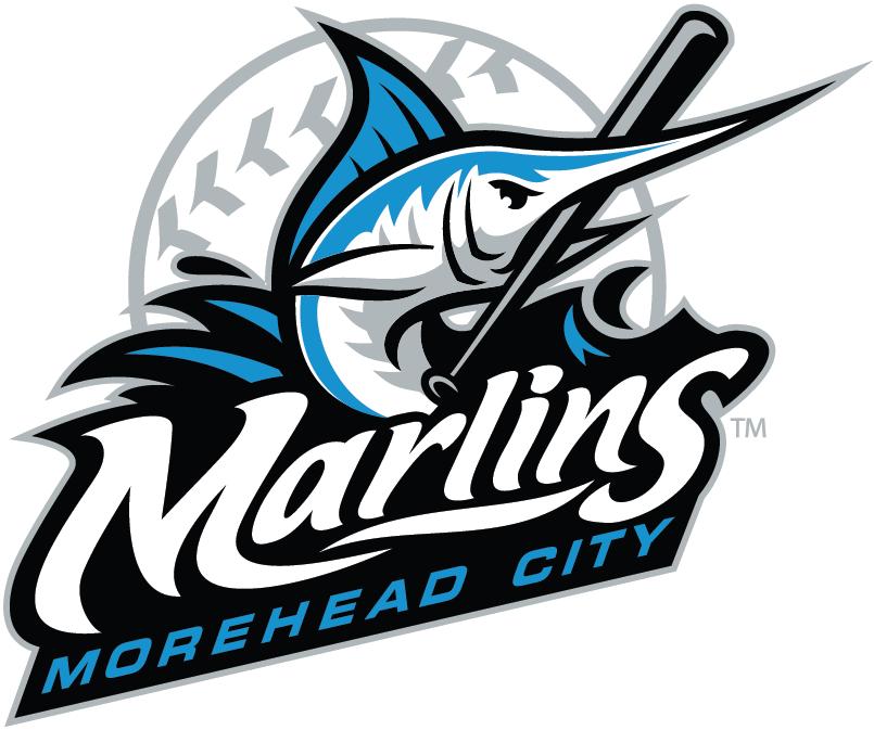 Morehead City Marlins Logo Primary Logo (2010-Pres) -  SportsLogos.Net