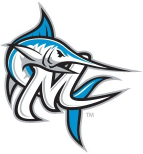 Morehead City Marlins Logo Cap Logo (2010-Pres) -  SportsLogos.Net