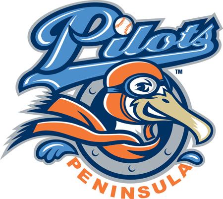 Peninsula Pilots Logo Primary Logo (2000-Pres) -  SportsLogos.Net