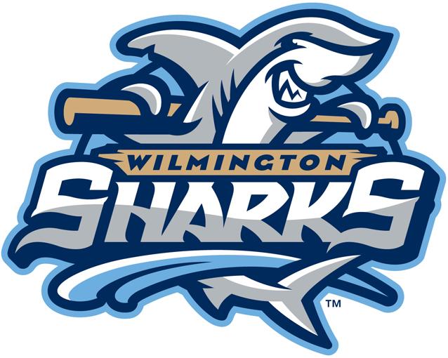 Wilmington Sharks Logo Primary Logo (2014-Pres) -  SportsLogos.Net