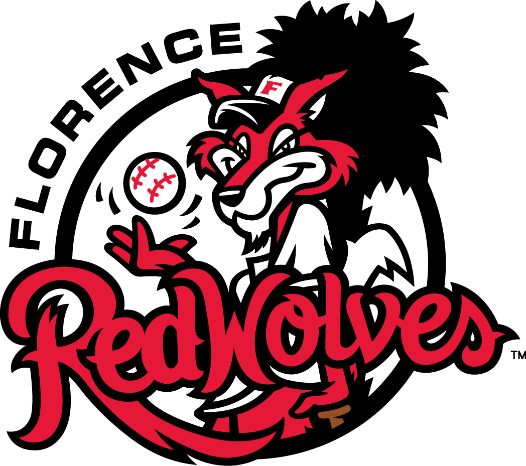 Florence RedWolves Logo Primary Logo (2015-Pres) -  SportsLogos.Net