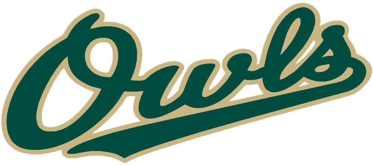 Forest City Owls Logo Wordmark Logo (2008-Pres) -  SportsLogos.Net