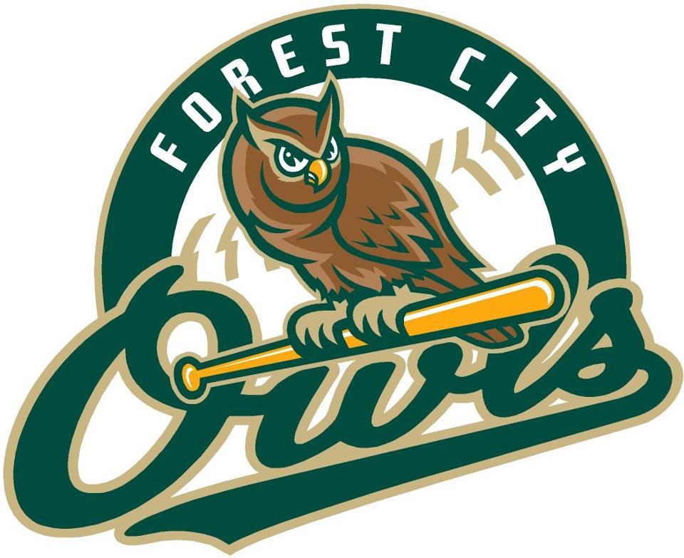 Forest City Owls Logo Primary Logo (2008-Pres) -  SportsLogos.Net