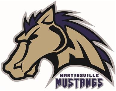 Martinsville Mustangs Logo Primary Logo (2013-Pres) -  SportsLogos.Net