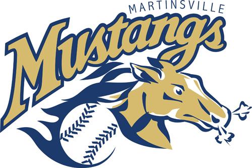 Martinsville Mustangs Logo Primary Logo (2005-2012) -  SportsLogos.Net