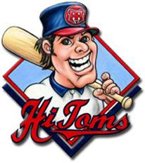 High Point-Thomasville HiToms Logo Primary Logo (1999-Pres) -  SportsLogos.Net