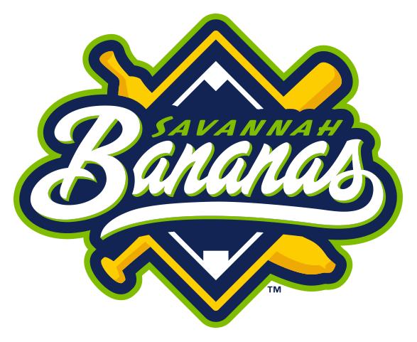 Savannah Bananas Logo Alternate Logo (2016-Pres) -  SportsLogos.Net