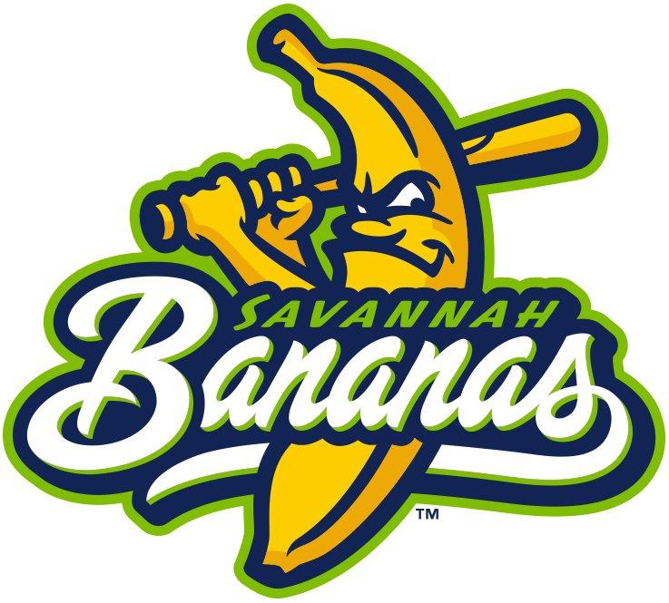 Savannah Bananas Logo Primary Logo (2016-Pres) -  SportsLogos.Net