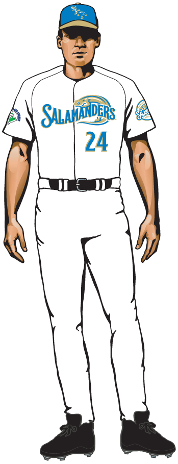 Holly Springs Salamanders Uniform Home Uniform (2015-Pres) -  SportsLogos.Net