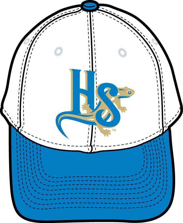 Holly Springs Salamanders Logo Cap Logo (2015-Pres) - Road uniform cap SportsLogos.Net