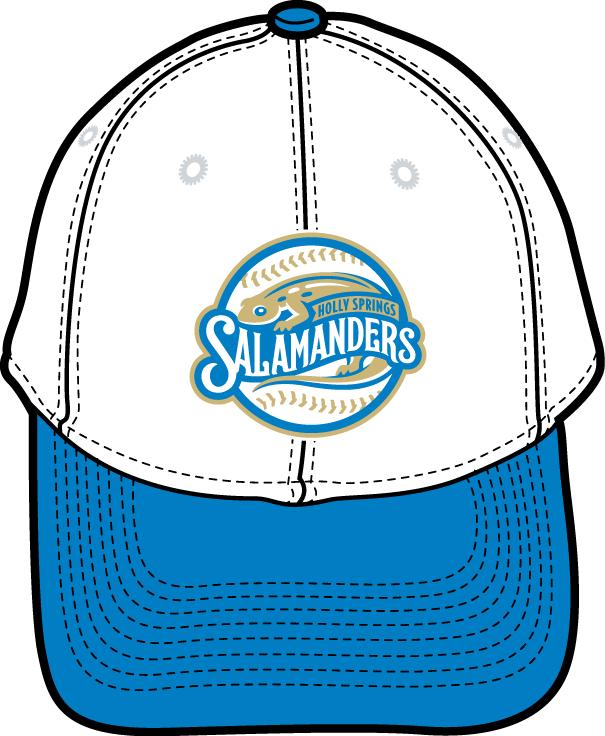 Holly Springs Salamanders Logo Cap Logo (2015-Pres) - Alternate uniform 3 cap  SportsLogos.Net