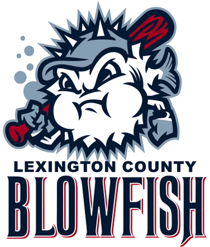 Lexington County Blowfish Logo Primary Logo (2015-Pres) -  SportsLogos.Net