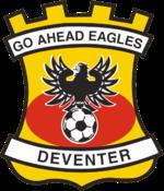 Go Ahead Eagles Logo Primary Logo (2000-Pres) -  SportsLogos.Net