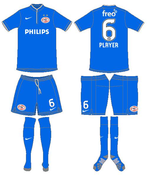 PSV Eindhoven Uniform Alternate Uniform (2014-2015) -  SportsLogos.Net