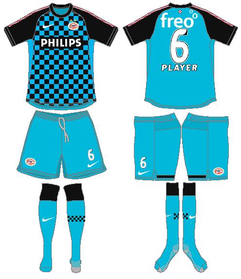 PSV Eindhoven Uniform Road Uniform (2011-2013) -  SportsLogos.Net