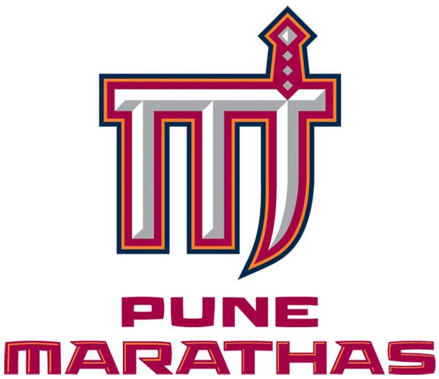 Pune Marathas Logo Primary Logo (2012/13-Pres) -  SportsLogos.Net