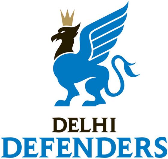 Delhi Defenders Logo Primary Logo (2012/13-Pres) -  SportsLogos.Net