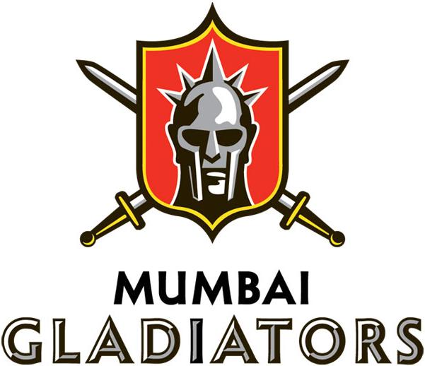 Mumbai Gladiators Logo Primary Logo (2012/13-Pres) -  SportsLogos.Net