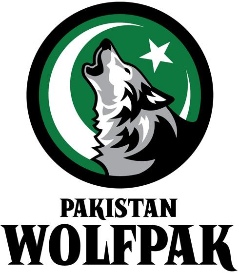 Pakistan  Wolfpak Logo Primary Logo (2012/13-Pres) -  SportsLogos.Net