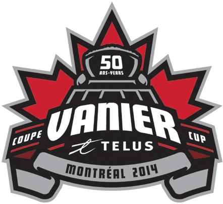 Vanier Cup Logo Primary Logo (2014) - 2014 Vanier Cup - Montreal SportsLogos.Net