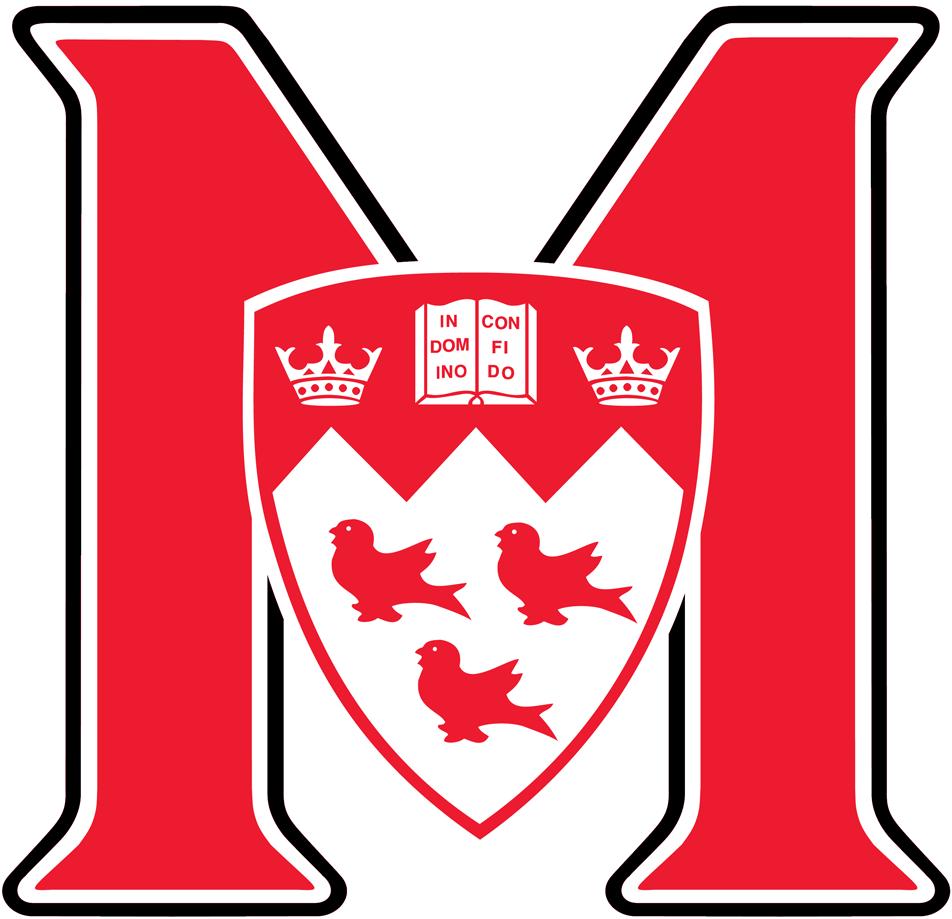 McGill Redmen Logo Primary Logo (2000-Pres) -  SportsLogos.Net