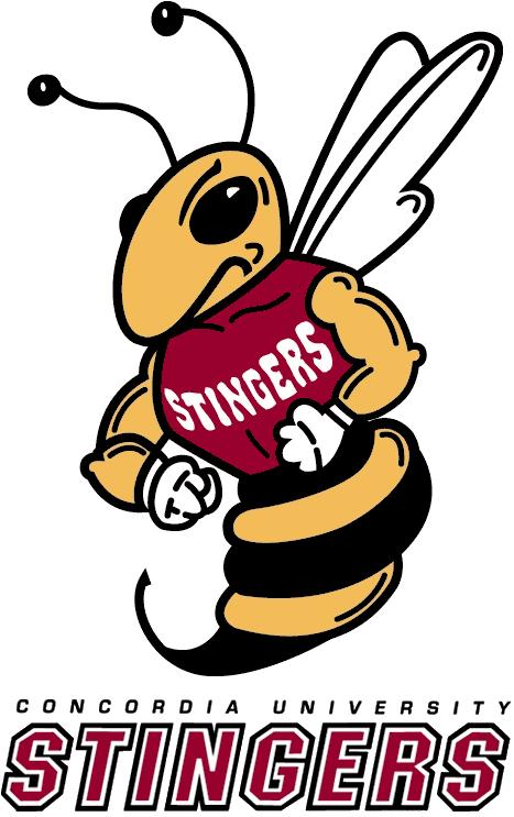Concordia Stingers Logo Primary Logo (2000-Pres) -  SportsLogos.Net