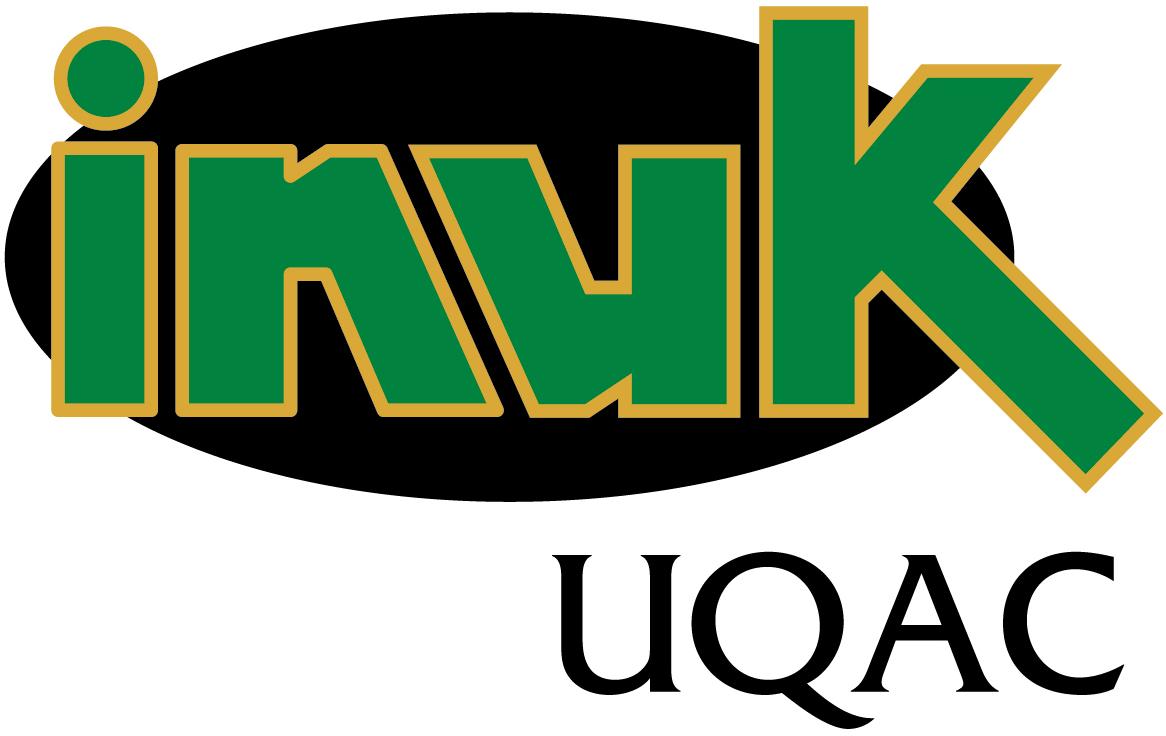 UQAC Inuk Logo Primary Logo (2000-Pres) -  SportsLogos.Net