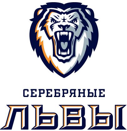 Serebryanye Lvy Logo Primary Logo (2013/14-Pres) -  SportsLogos.Net